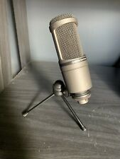 Audio Technica AT2020USB USB Condenser Microphone - With Table Stand