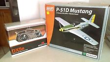 BFN 2009 P-51D Mustang RC 4 Channel Ultra Micro With DX5E Spectrum Transmitter