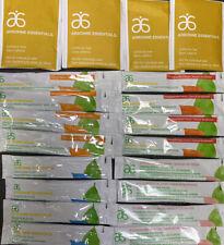 20x Arbonne Essentials Fizz Sticks Citrus, Pomegranate, Strawberry & Tea Bags