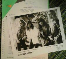 McQueen Street 1991 Press Kit