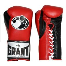 Grant Worldwide Boxing Gloves 10oz Pro Fight Gloves 100% AUTHENTIC Mayweather