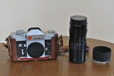 ALPA 10d SLR Film Camera with P.Angenieux 180mm F/4.5 Lens