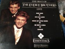 The Best of Everly Brothers: Live by The Everly Brothers CD C2