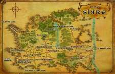 Lord Of The Rings Replica *The Shire Map* Poster