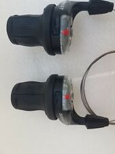 SRAM X7 9 SPEED GRIP TWIST SHIFTER SET, FRONT AND REAR SHIFTERS
