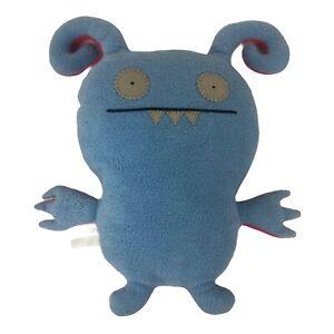 "Uglydoll 15"" Turny Burny Plush Blue/Pink Reversible Double Sided Stuffed Animal"
