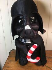 Darth Vador Official Star Wars Plush With Candy Cane