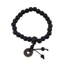 Black Tibetan Coin Bead Bracelet Boho Jewellery Gypsy Bohemian Ethnic A043