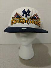 NEW YORK YANKEES Starter WORLD SERIES CHAMPIONS White Snapback Hat