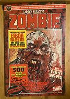 Zombie #1 Lucio Fulci NEW SEALED SIGNED Eibon Press Comic LIMITED 500 New!