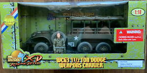 The Ultimste Soldier WC63 1 1/2 Dodge Weapons Carrier, 1:18, # 10174 NIB