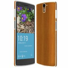 Skinomi Light Wood Skin+Ultra Clear HD Screen Protector for OnePlus One