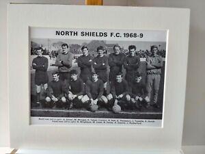 Amateur football team print  NORTH SHIELDS F.C.