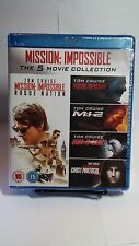 Mission: Impossible 5 Movie Collection (Blu-ray,5 Discs,Region Free)NEW-Free S&H