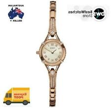GUESS Gold Plated Case Analogue Wristwatches