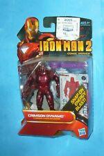 "IRON MAN 2 CRIMSON DYNAMO 25 Comic Series HASBRO 3.75"""