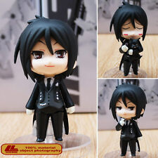 "Anime Black Butler Sebastian Michaelis Nendoroid 68# 4"" Action Figure Toy Gift"
