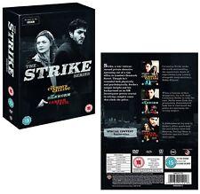 STRIKE 1-3: CUCKOO'S CALLING, SILKWORM, CAREER OF EVIL (2017-2018): COMPLETE DVD