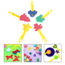 Kids Children Creative Art Tool Sponge Shape Painting Stamp DIY EVA Craft Toy