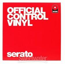 SERATO 12 Inch Control Vinyl - Performance Series  (Pair)  Red