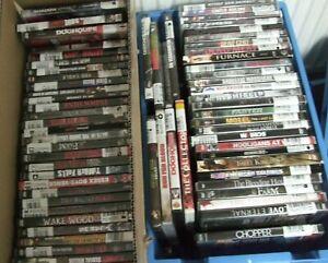 40x  DVD   Sammlung Horrorfilme Actionfilme   u.ä.   bis  FSK 18
