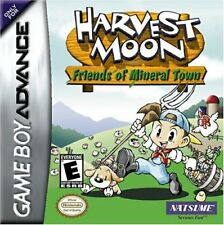 Harvest Moon Friends of Mineral Town  Game Boy Advance GBA