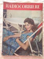 Radiocorriere n.38 settembre 1956 - Marisa Allasio