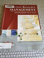 Human Resource Management. Dantes/DSST Study Guide. Paperback
