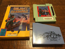 Silent Assault NES Nintendo Game w/ Box & Sleeve - No Manual - Color Dreams BLUE