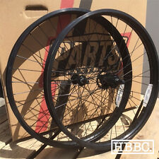 "BICYCLE RIMS 26""x 50MM BLACK SINGLE SPEED WHEEL SET BEACH CRUISER BIKE"