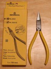 Serrated Pliers Watch Repair Tool Vg Bergeon No. 2624 Watchmakers Flat Nose