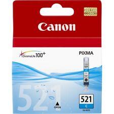 Cartouche d'encre Canon CLI-521 cyan pour PIXMA iP4700 MP540 MX870 iP3600...