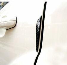 4Pcs real de Fibra de Carbono Protector de protección de borde de puerta de coche adornos Pegatinas Auto Borde
