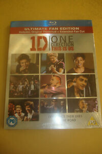 SEALED --- 1D - ONE DIRECTION THIS IS US -  BLU RAY Ulitiamte Fan Edition
