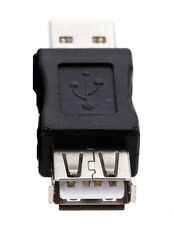 USB tipo A macho a USB 2.0 Tipo B Hembra Conector Conversor Adaptador De Enchufe