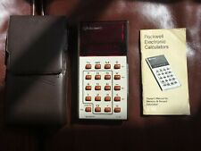 Rockwell 21R Vintage Calculator & Case