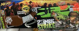 Nerf Zombie Strike SlingFire Dart Blaster Lever-Action 6ct Darts Clip Hasbro