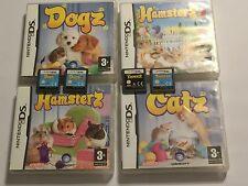 8 NINTENDO DS DSi DSL GAMES HAMSTERZ 1 2 CATZ DOGZ 1 2 FASHION BUNNYZ TIGERZ