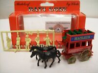 "Lledo, Horse Drawn Omnibus ""HAMLEYS"" 1900, Red, Lledo Days Gone 1:76, OVP"