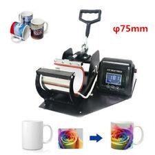 Mug Heat Press Transfer Embossing Machine φ75mm Cup Sublimation Digital Display