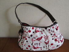 Cacharel  bag, white with red bird pattern, Brand new