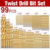 Cobalt Drill Bits Kit For Stainless Steel HSS-Co Cobalt Bit Tool 99pcs/Set New
