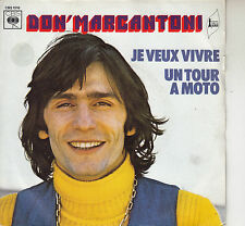 45TRS VINYL 7''/ FRENCH SP DON' MARCANTONI / UN TOUR A MOTO