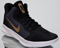 Nike Precision III Mens Basketball Shoes Black Dark Grey Sneakers AQ7495-003