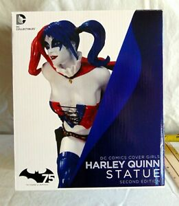 """DC COLLECTIBLES """"Cover Girls"""" Harley Quinn (2nd Edition) by Jack Mathews"""