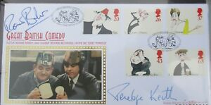 FDC Signed Ronnie Barker & Penelope Keith, Porridge, 3040 of 5000, 23 Apr 98