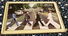 Tin Sign Retro - The Beatles Abbey Road Music Band H-PL81