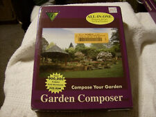 DICOMP GARDEN COMPOSER ALL-IN-ONE PLANNING & CARE FOR YOUR GARDEN & LANDSCAPING