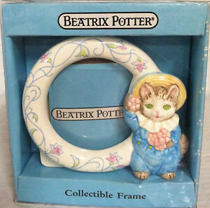 Beatrix Potter Tom Kitten Porcelain Photo Frame  NIP