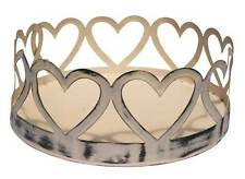 Beautiful French Provincial Rustic Heart Tray Ideal For Candles Weddings Party